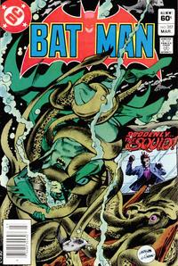 Cover Thumbnail for Batman (DC, 1940 series) #357 [Newsstand]