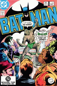 Cover for Batman (DC, 1940 series) #359 [Newsstand]