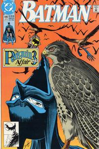 Cover Thumbnail for Batman (DC, 1940 series) #449 [Direct Sales Variant]