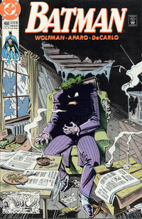 Cover Thumbnail for Batman (DC, 1940 series) #450 [Direct Sales Variant]