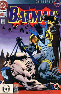 Cover Thumbnail for Batman (DC, 1940 series) #500 [Second Printing]