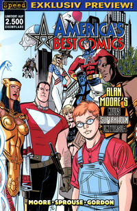 Cover Thumbnail for America's Best Comics Preview (Tilsner, 2000 series)