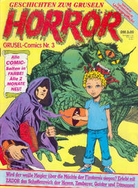 Cover Thumbnail for Horror (Condor, 1989 series) #3
