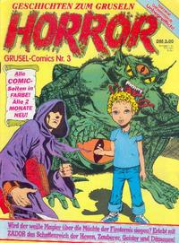 Cover Thumbnail for Horror (Condor, 1989 series) #3