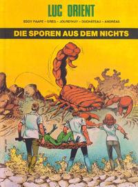 Cover Thumbnail for Luc Orient (Norbert Hethke Verlag, 1986 series) #[17] - Die Sporen aus dem Nichts