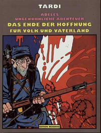 Cover Thumbnail for Adeles ungewöhnliche Abenteuer (Edition Moderne, 1989 series) #5 - Das Ende der Hoffnung