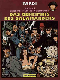 Cover Thumbnail for Adeles ungewöhnliche Abenteuer (Edition Moderne, 1989 series) #6 - Das Geheimnis des Salamanders