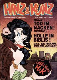 Cover Thumbnail for Hinz & Kunz (Volksverlag, 1979 series) #9