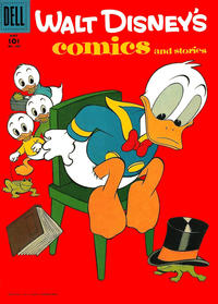 Cover Thumbnail for Walt Disney's Comics and Stories (Dell, 1940 series) #v17#8 (200)