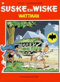Cover Thumbnail for Suske en Wiske (Standaard Uitgeverij, 1967 series) #71 - Wattman