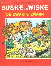 Cover Thumbnail for Suske en Wiske (Standaard Uitgeverij, 1967 series) #123 - De zwarte zwaan [Eerste druk 1971]