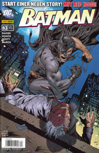 Cover Thumbnail for Batman (Panini Deutschland, 2007 series) #63