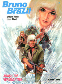 Cover Thumbnail for Bruno Brazil (Carlsen Comics [DE], 1987 series) #7 - Akashitos Vermächtnis