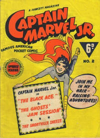 Cover Thumbnail for Captain Marvel Jr. (Cleland, 1947 series) #2