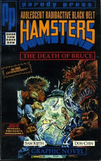 Cover Thumbnail for Adolescent Radioactive Black Belt Hamsters: The Death of Bruce (Entity-Parody, 1992 series)