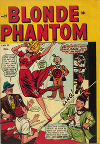 Cover Thumbnail for Blonde Phantom Comics (Bell Features, 1948 series) #21
