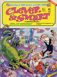 Cover Thumbnail for Clever & Smart (Condor, 1979 series) #3