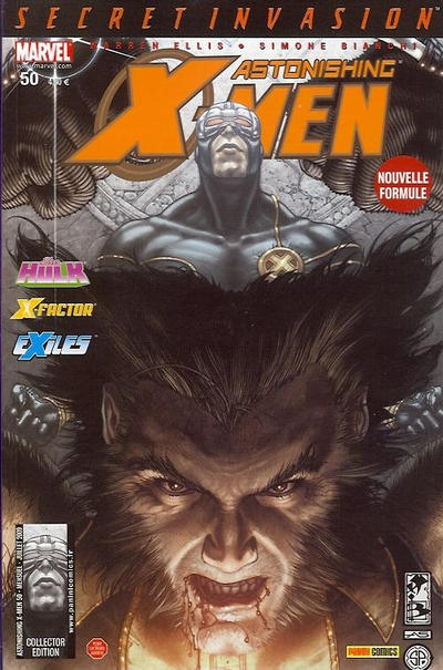 Cover for Astonishing X-Men (Panini France, 2005 series) #50 [Collector Edition]