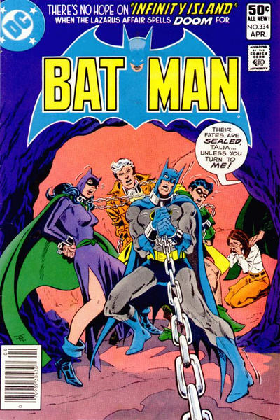 Cover for Batman (DC, 1940 series) #334 [Direct Sales]