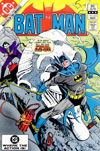 Cover for Batman (DC, 1940 series) #353