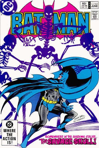 Cover for Batman (DC, 1940 series) #360 [Direct-Sales]