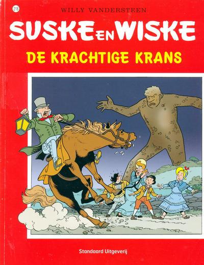 Cover for Suske en Wiske (Standaard Uitgeverij, 1967 series) #218 - De krachtige krans [Herdruk 2003]