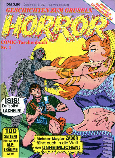 Cover for Horror Comic-Taschenbuch (Condor, 1990 series) #1