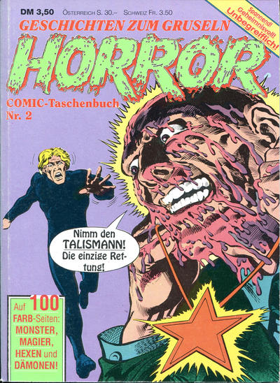 Cover for Horror Comic-Taschenbuch (Condor, 1990 series) #2