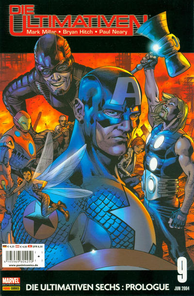 Cover for Die Ultimativen (Panini Deutschland, 2002 series) #9