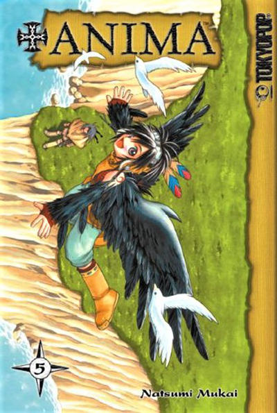 Cover for +Anima (Tokyopop, 2006 series) #5