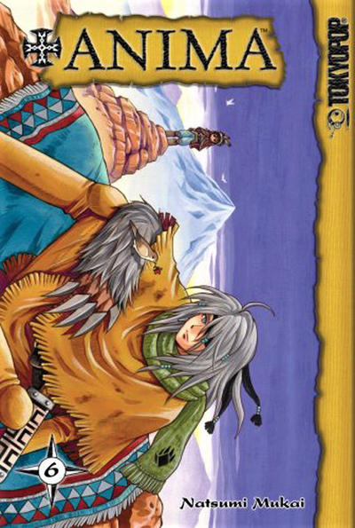 Cover for +Anima (Tokyopop, 2006 series) #6