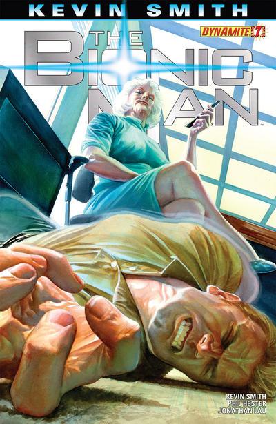 Cover for Bionic Man (Dynamite Entertainment, 2011 series) #7 [Lau]