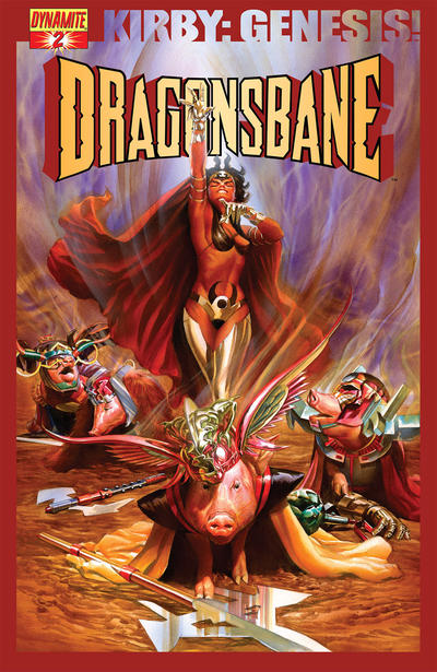 Cover for Kirby: Genesis - Dragonsbane (Dynamite Entertainment, 2012 series) #2