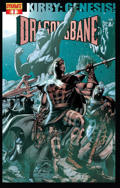 Cover for Kirby: Genesis - Dragonsbane (Dynamite Entertainment, 2012 series) #1 [Cover B]