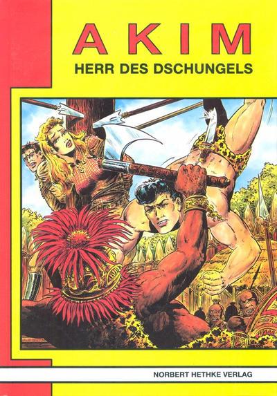 Cover for Akim  Herr des Dschungels (Norbert Hethke Verlag, 1987 series) #5