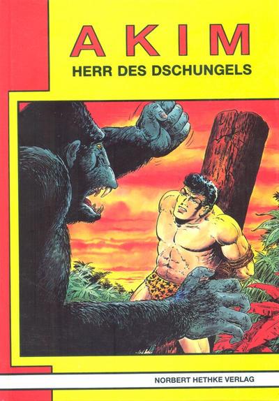 Cover for Akim  Herr des Dschungels (Norbert Hethke Verlag, 1987 series) #6