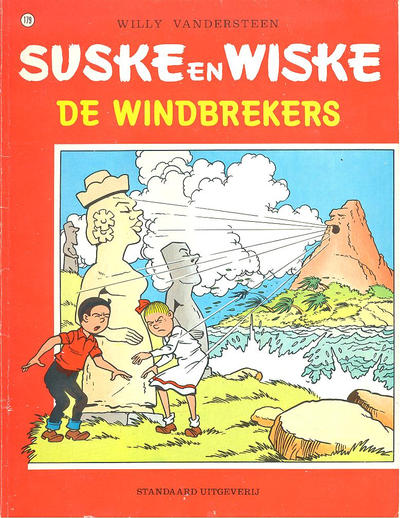 Cover for Suske en Wiske (Standaard Uitgeverij, 1967 series) #179 - De windbrekers