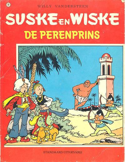 Cover for Suske en Wiske (Standaard Uitgeverij, 1967 series) #181 - De perenprins