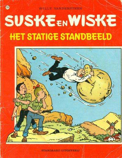 Cover for Suske en Wiske (Standaard Uitgeverij, 1967 series) #174 - Het statige standbeeld