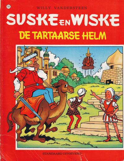 Cover for Suske en Wiske (Standaard Uitgeverij, 1967 series) #114 - De Tartaarse helm
