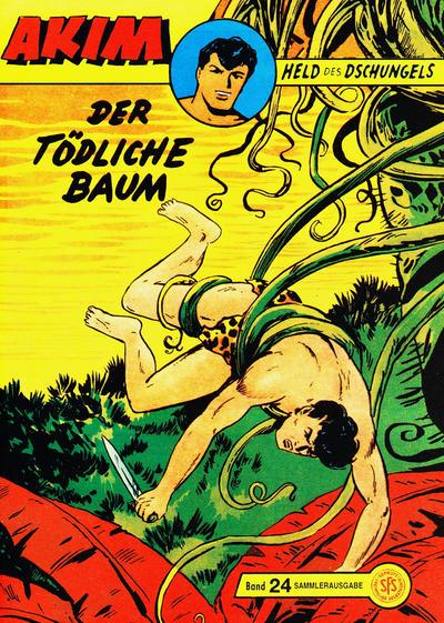 Cover for Akim Held des Dschungels (Norbert Hethke Verlag, 1996 series) #24