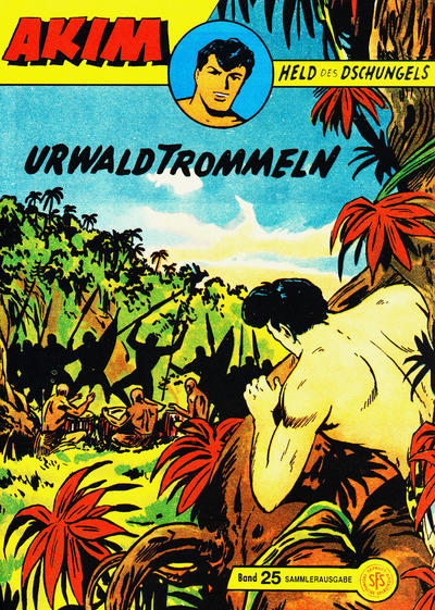 Cover for Akim Held des Dschungels (Norbert Hethke Verlag, 1996 series) #25