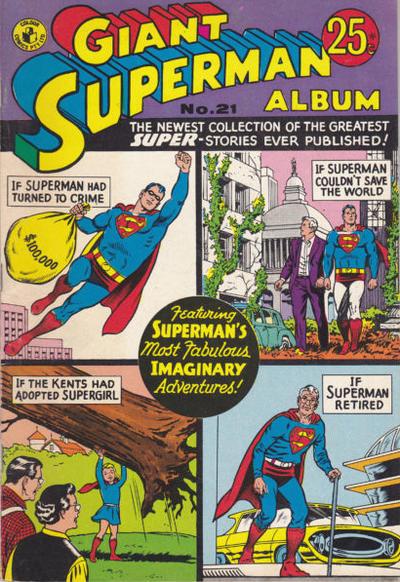 Cover for Giant Superman Album (K. G. Murray, 1963 ? series) #21