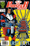 Cover for Punisher 2099 (Marvel, 1993 series) #3 [Newsstand]