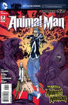Cover for Animal Man (DC, 2011 series) #7