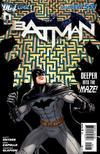 Cover for Batman (DC, 2011 series) #5 [Chris Burnham Variant Cover]