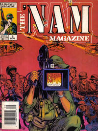 Cover Thumbnail for The 'Nam Magazine (Marvel, 1988 series) #2 [Newsstand]