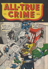 Cover Thumbnail for All True Crime Cases Comics (Bell Features, 1948 series) #28
