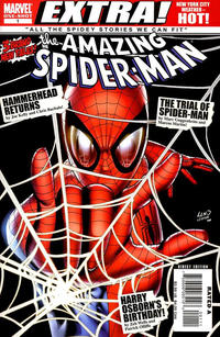 Cover Thumbnail for Spider-Man: Brand New Day - Extra (Marvel, 2008 series) #1