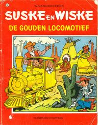Cover Thumbnail for Suske en Wiske (Standaard Uitgeverij, 1967 series) #162 - De gouden locomotief